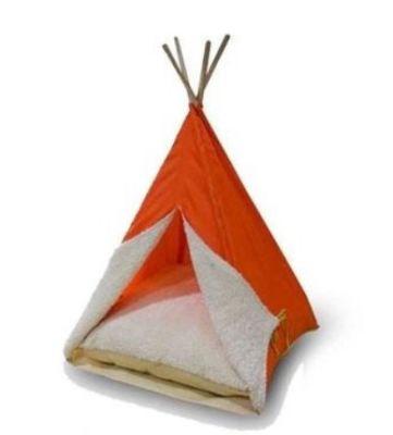 Diğer - Bedspet Kedi Köpek Çadırı Turuncu 50x70 Cm