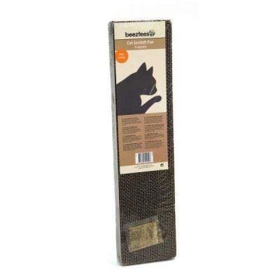 Beeztees - Beeztees Catnip(Kedi Otlu) Karton Kedi Tırmalama 50x12,5 Cm