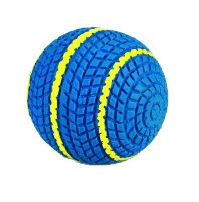 Beeztees - Beeztees Latex Biky Köpek Topu Mavi 9 cm