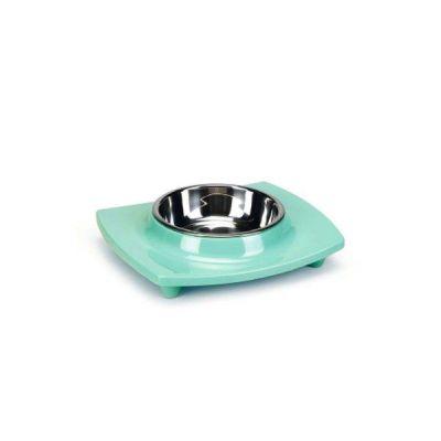 Beeztees - Beeztees Mela Kedi Köpek Mama Kabı Yeşil 160 ml