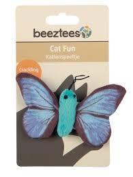 Beeztees - Beeztees Sparky Kelebek Kedi Oyuncağı 11 Cm