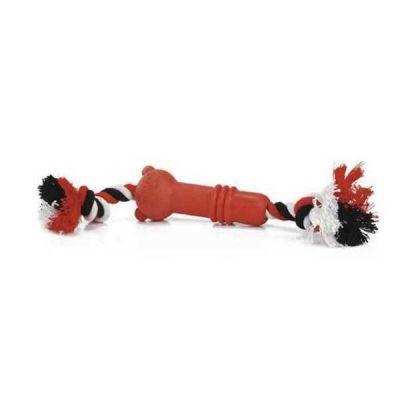 Beeztees - Beeztees Sumo Mini Fit Köpek Oyuncağı Kırmızı 5 cm