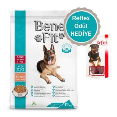 Benefit - Benefit Somonlu Büyük Irk Yetişkin Köpek Maması 12 Kg