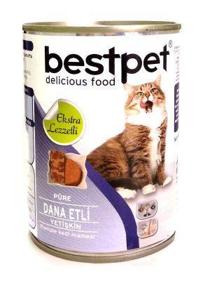 Best Pet - Bestpet Dana Etli Konserve Kedi Maması 400 gr