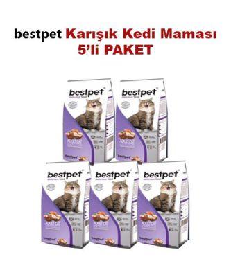 Best Pet - BestPet Karışık Etli Kuru Kedi Maması 5 KG