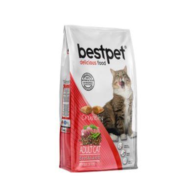 Best Pet - Bestpet Kıtırlı Kuzu ve Dana Etli Yetişkin Kedi Maması 1 kg