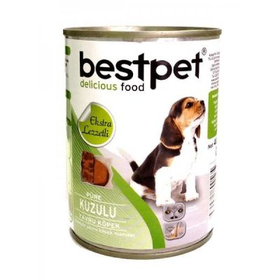 Best Pet - BestPet Kuzu Etli Yavru Köpek Konservesi 400 Gr