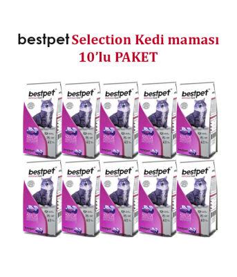 Best Pet - Bestpet Selection Tavuklu Yetişkin Kedi Maması 10 KG
