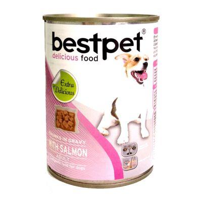 Best Pet - BestPet Somonlu Köpek Konservesi 400 Gr