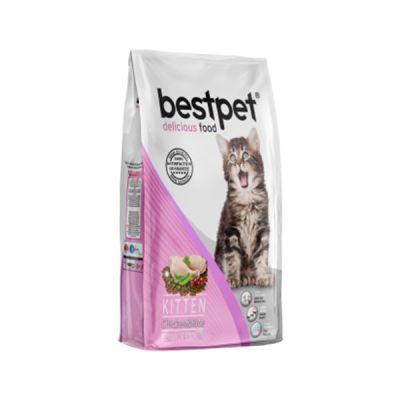 Best Pet - Bestpet Tavuklu ve Pirinçli Yavru Kedi Maması 1 Kg