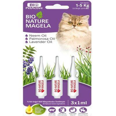 Bio Petactive - Bio PetActive Kedi Tüy ve Deri Bakım Damlası 1-5 kg