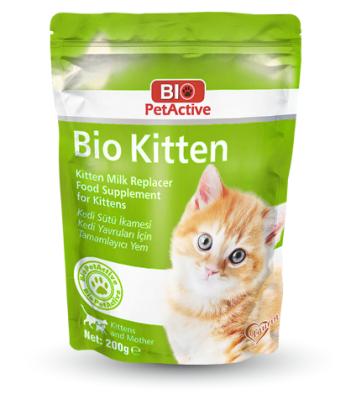 Bio Petactive - Bio PetActive Yavru Kediler için Süt Tozu 200 Gr