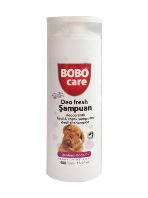 Bobo - Bobo Deodorantlı Kedi Köpek Şampuanı 400 Ml
