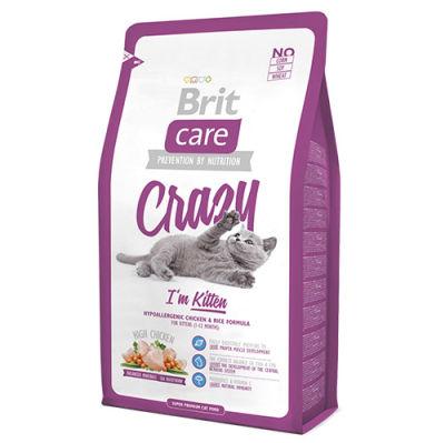 Brit Care - Brit Care Crazy Tavuklu Yavru Kedi Maması 7 Kg