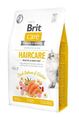 Brit Care - Brit Care Haircare Somonlu ve Tavuklu Kedi Maması 2 Kg
