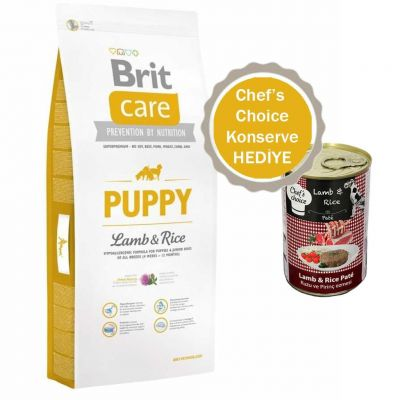 Brit Care - Brit Care Hypo-Allergenic Kuzulu Yavru Kuru Köpek Maması 3 Kg