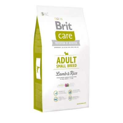 Brit Care - Brit Care HypoAllergenic Küçük Irk Kuzulu Yet. Köpek Maması 7,5Kg