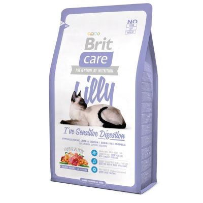 Brit Care - Brit Care Kuzu Somonlu Hassas Sindirim Tahılsız Kedi Maması 2 Kg