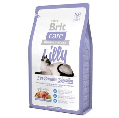 Brit Care - Brit Care Kuzu Somonlu Hassas Sindirim Tahılsız Kedi Maması 7 Kg