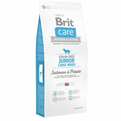 Brit Care - Brit Care Somonlu Tahılsız Büyük Irk Yavru Köpek Maması 3 Kg