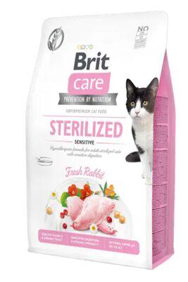 Brit Care - Brit Care Tahılsız Tavşan Etli Kısırlaştırılmış Yetişkin Kedi Maması 2 KG