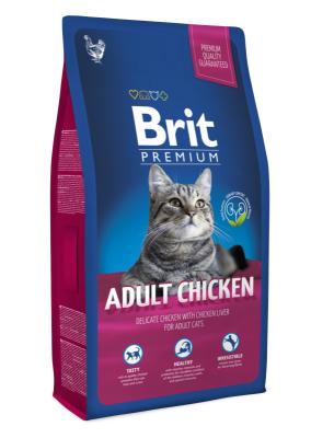 Brit Care - Brit Premium Cat Adult Tavuklu Yetişkin Kedi Maması 1,5 Kg