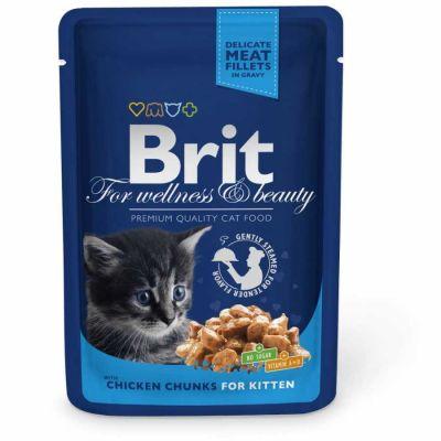 Brit Care - Brit Premium Cat Pouches Yavru Kedi Konservesi 100 Gr