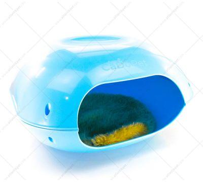 CaDo Pet - CaDo Pet Kedi Evi Mavi