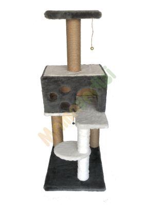 Diğer - Cat Hause Kedi Tırmalama Evi Gri