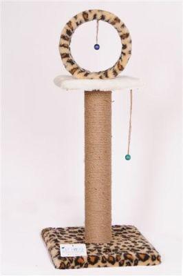 Cat Hause - Cat House Çemberli Tırmalama 78 Cm Leopar