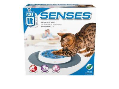 Catit - Catit 50725 Senses Catnip Karton Kedi Tırmalama Pedi (Kedi Otlu)