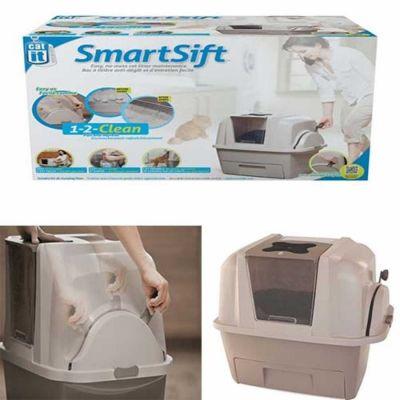 Catit - Catit SmartSift Otomatik Kedi Tuvalet Kabı