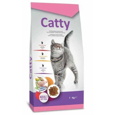 Catty - Catty Yetişkin Kedi Maması 1 KG