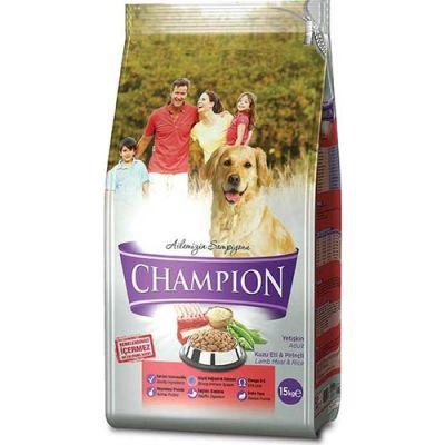 Champion - Champion Kuzu Etli Yetişkin Köpek Maması 15 Kg