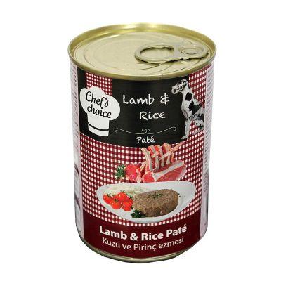 Chef′s Choise - Chefs Choice Kuzulu Pirinçli Ezme Köpek Konseve Maması 400 Gr