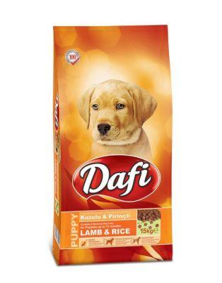 Dafi - Dafi Kuzu Etli ve Pirinçli Yavru Köpek Maması 15 Kg