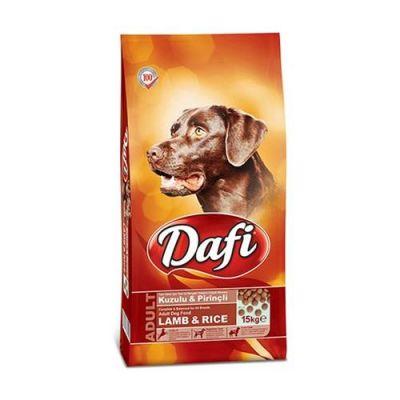Dafi - Dafi Kuzu Etli ve Pirinçli Yetişkin Köpek Maması 15 Kg