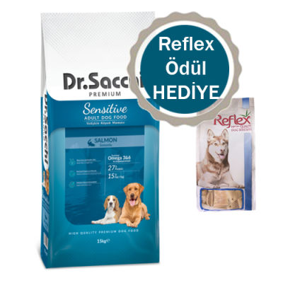 Dr.Sacchi - Dr.Sacchi Premium Sensitive Salmon Yetişkin Köpek Maması15 Kg