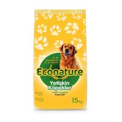 Eco Nature - EcoNature Lamb Kuzu Eti Yetişkin Köpek Maması 15 Kg