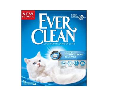 Ever Clean - Ever Clean Extra Strength / Ekstra Güçlü Kokusuz Kedi Kumu 6 Lt