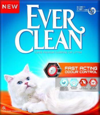 Ever Clean - Ever Clean Fast Acting Hızlı Etki Eden Bitki Özlü Kedi Kumu 6 Lt
