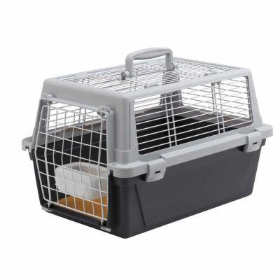 Ferplast - Ferplast Atlas Vision10 Üstü Açılabilen Kedi Köpek Taşıma Çantası 48Cm