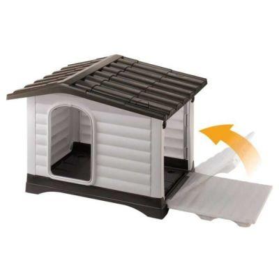 Ferplast - Ferplast Dog Villa 70 Plastik Köpek Kulübesi