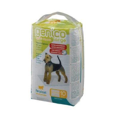 Ferplast - Ferplast Genico Large Köpek Tuvalet Eğitim Pedi 60x90 cm 10 Adet