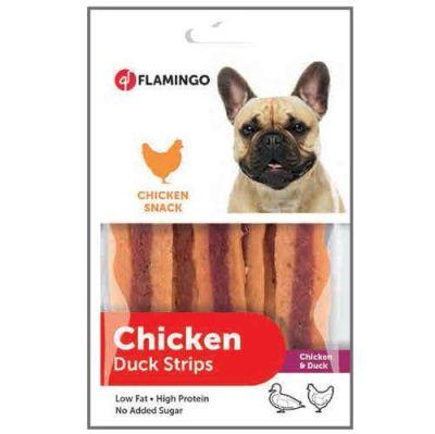 Karlie - Flamingo Tavuk ve Ördek Etli Şerit Köpek Ödülü 85 gr