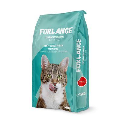 Forlance - Forlance Tavuklu Kısırlaştırılmış Kedi Maması 15 KG