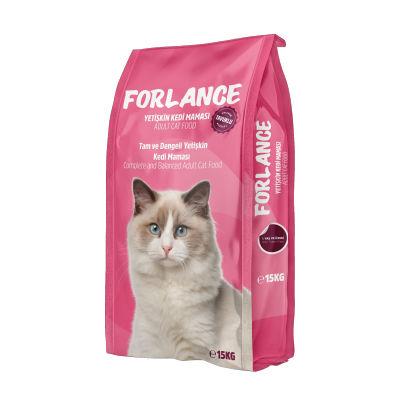 Forlance - Forlance Tavuklu Yetişkin Kedi Maması 15 KG