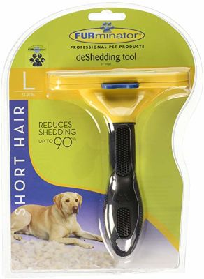 Furminator - Furminator Kısa Tüylü Köpekler İçin Tüy Toplayıcı Tarak LARGE