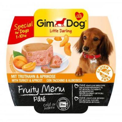 Gimdog - Gimdog Fruity Hindi Kayısılı Köpek Konservesi 100gr