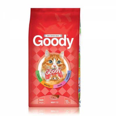 Goody - Goody Etli Yetişkin Kedi Maması 15 KG